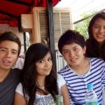 *高校生の時のメキシコYL(右から2番目、湯本くん)